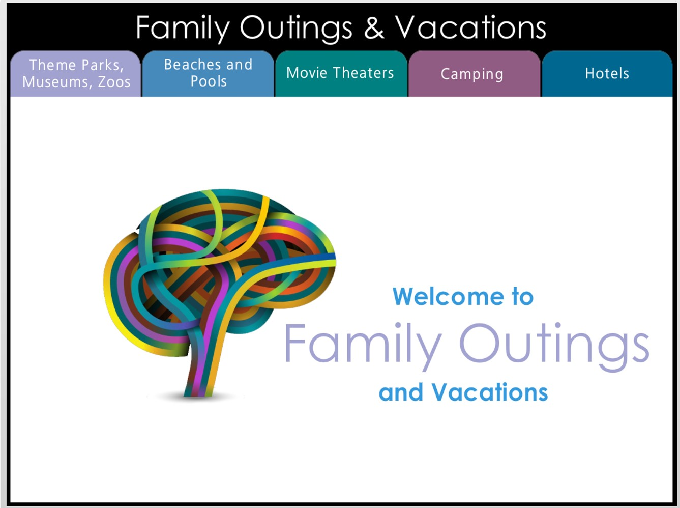 Family Outings and Vacations