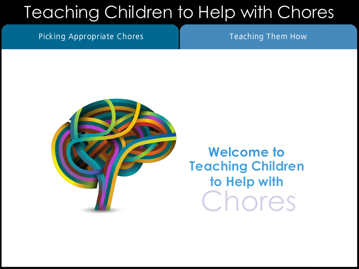 Teaching Children to Help with Chores