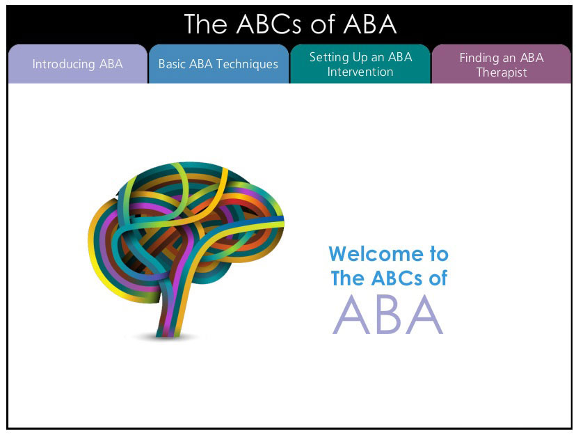 Welcome to the ABC's of ABA